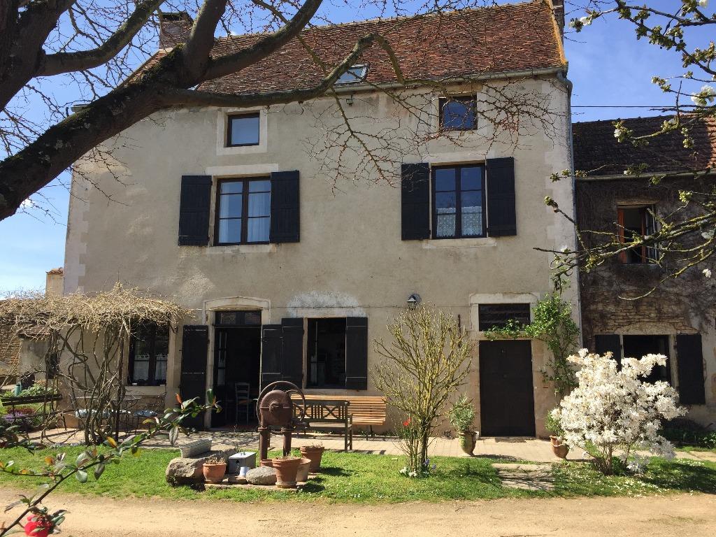 Cluny Haus Haustausch: maison ancienne à la campagne en Bourgogne du sud