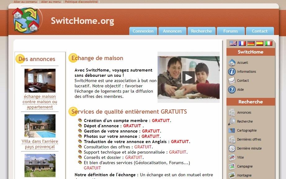 Switchome echange de maison gratuit - Echange de maison gratuit ...