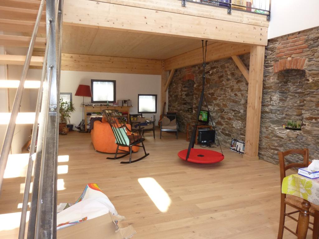 Maison bois à Nantes - terrasse et jardin proche du bord de ...