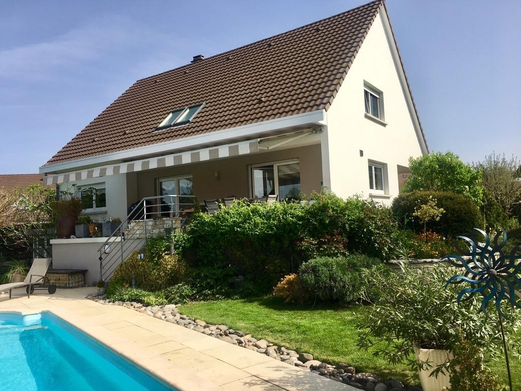 Piscine En Bois Alsace sausheim maison echange : maison, piscine en alsace